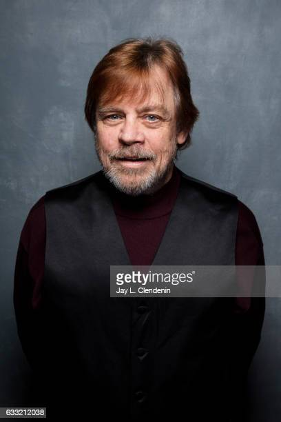 "Actor Mark Hamil from the film ""Brigsby Bear"" is photographed at the 2017 Sundance Film Festival for Los Angeles Times on January 19 2017 in Park..."
