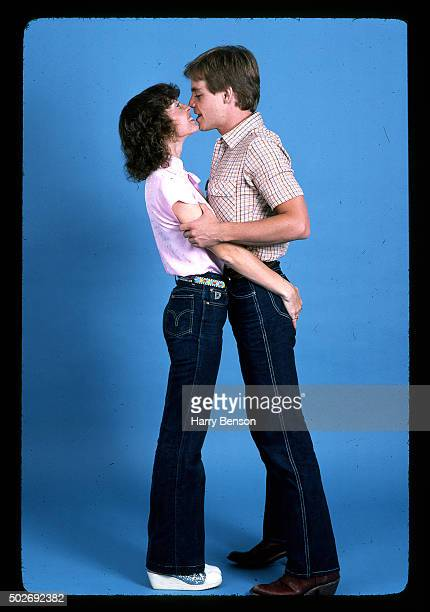 Actor Mark Hamill is photographed with wife Marilou York for People Magazine in 1981 in New York City