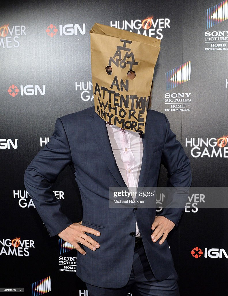 Actor <a gi-track='captionPersonalityLinkClicked' href=/galleries/search?phrase=Mark+Harle&family=editorial&specificpeople=234397 ng-click='$event.stopPropagation()'>Mark Harle</a>y attends the 'The Hungover Games' cast party at Lure on February 11, 2014 in Hollywood, California.