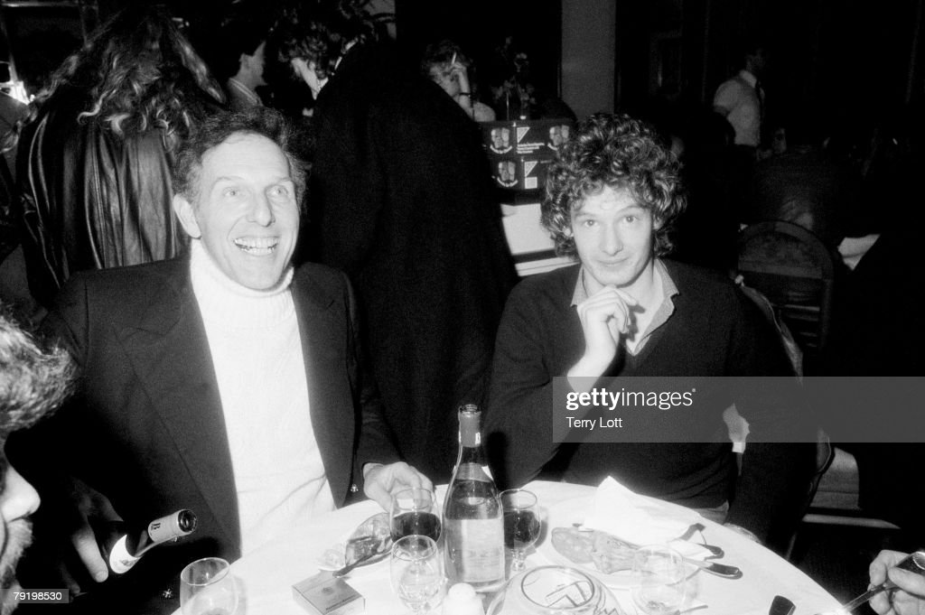 Actor Mark Lester With CBS CEO Maurice Oberstein At The Luther Vandross After Show Party, Dominion Theatre, London