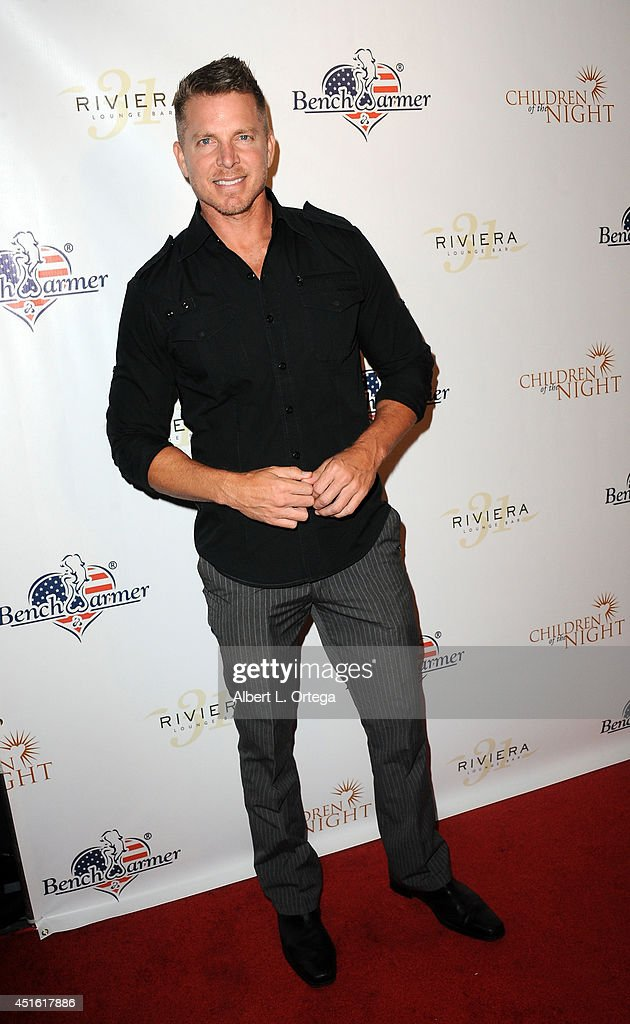 Actor Mark Long arrives for BenchWarmer's Annual Stars & Stripes Celebration held at Riviera 31 on July 1, 2014 in Beverly Hills, California.