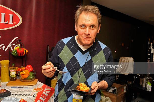 Actor Mark Moses attends the Bertolli Oven Bake Meals at the Access Hollywood 'Stuff You Must' Lounge produced by On 3 Productions held at Sofitel LA...