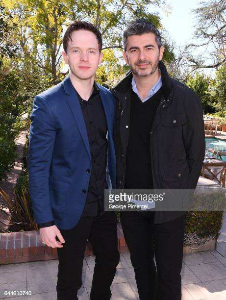 Actor Mark O'Brien and Marc Hamou attend the Canadian Brunch Reception Honoring Canadian Nominees For The 89th Academy Awards And The 32nd Film...