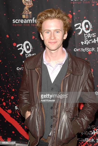 Actor Mark Rendall arrives to the premiere of '30 Days of Night' at Grauman's Chinese Theatre in Los Angeles