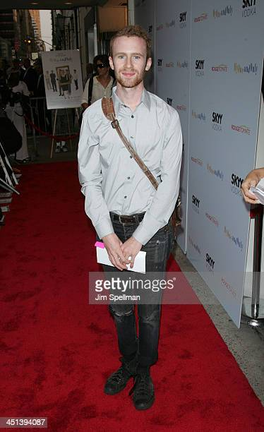 Actor Mark Rendall attends the premiere of My One And Only at the Paris Theatre on August 18 2009 in New York City