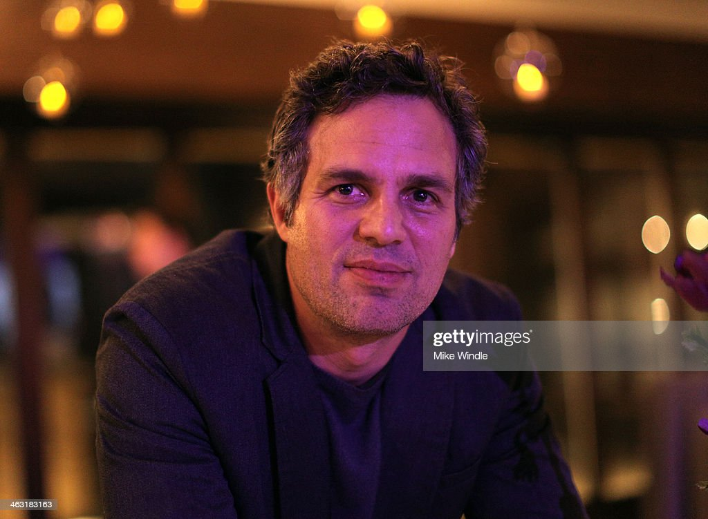 Actor <a gi-track='captionPersonalityLinkClicked' href=/galleries/search?phrase=Mark+Ruffalo&family=editorial&specificpeople=209317 ng-click='$event.stopPropagation()'>Mark Ruffalo</a> attends An Artist at the Table: Dinner Program during the 2014 Sundance Film Festival at Stein Eriksen Lodge on January 16, 2014 in Park City, Utah.