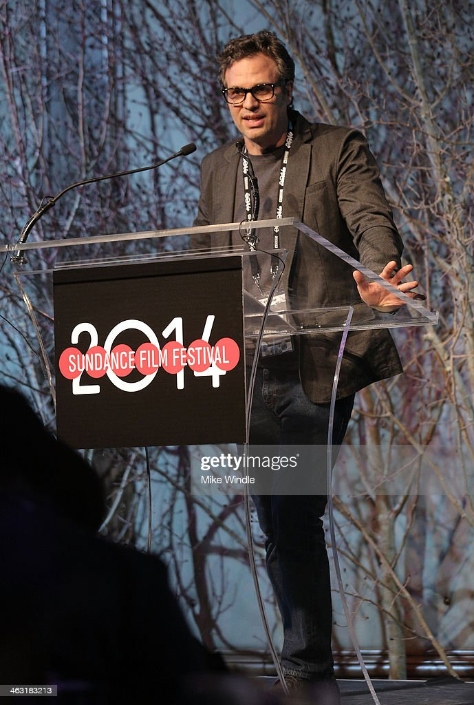 Actor Mark Ruffalo attends An Artist at the Table: Dinner Program during the 2014 Sundance Film Festival at Stein Eriksen Lodge on January 16, 2014 in Park City, Utah.
