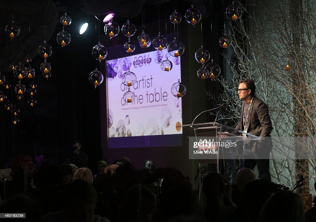Actor Mark Ruffalo attends An Artist at the Table: Dinner Program during the 2014 Sundance Film Festival at Stein Eriksen Lodge on January 16, 2014 in Park City, Utah.
