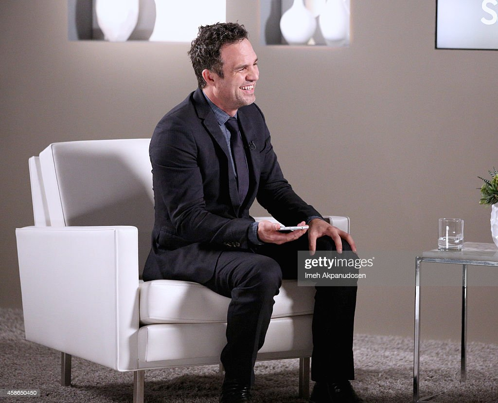 Actor Mark Ruffalo attends day one of Variety Studio Actors On Actors presented by Samsung Galaxy on November 8 2014 in Los Angeles California