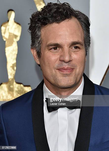 Actor Mark Ruffalo attends the 88th Annual Academy Awards at Hollywood Highland Center on February 28 2016 in Hollywood California