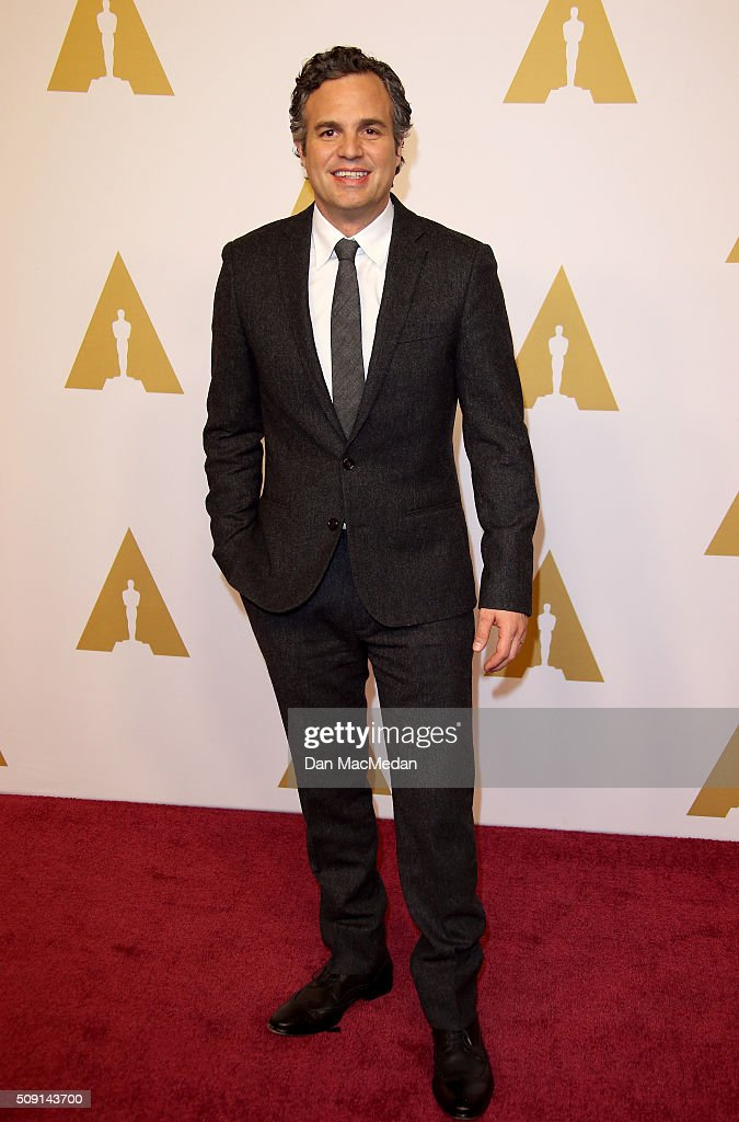 Actor <a gi-track='captionPersonalityLinkClicked' href=/galleries/search?phrase=Mark+Ruffalo&family=editorial&specificpeople=209317 ng-click='$event.stopPropagation()'>Mark Ruffalo</a> attends the 88th Annual Academy Awards Nominee Luncheon in Beverly Hills, California.
