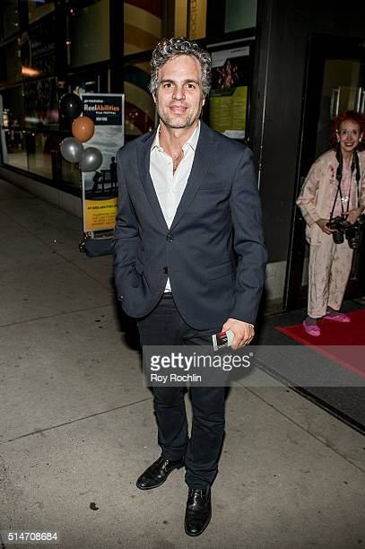 Actor Mark Ruffalo attends the 8th Annual ReelAbilities Film Festival opening night screening of 'Margarita With A Straw' at JCC Manhattan on March...