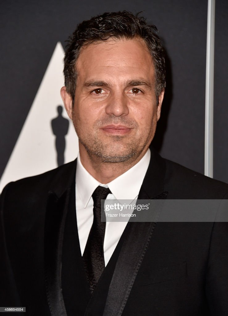 Actor <a gi-track='captionPersonalityLinkClicked' href=/galleries/search?phrase=Mark+Ruffalo&family=editorial&specificpeople=209317 ng-click='$event.stopPropagation()'>Mark Ruffalo</a> attends the Academy Of Motion Picture Arts And Sciences' 2014 Governors Awards at The Ray Dolby Ballroom at Hollywood & Highland Center on November 8, 2014 in Hollywood, California.