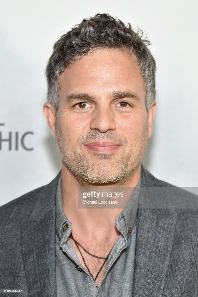 Actor Mark Ruffalo attends the National Geographic Channel 'Before the Flood' screening at United Nations Headquarters on October 20, 2016 in New York City.