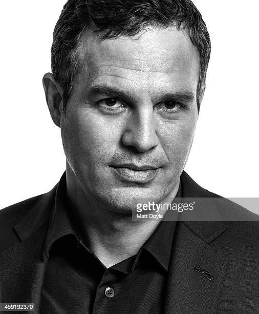 Actor Mark Ruffalo is photographed for Back Stage on October 10 in New York City