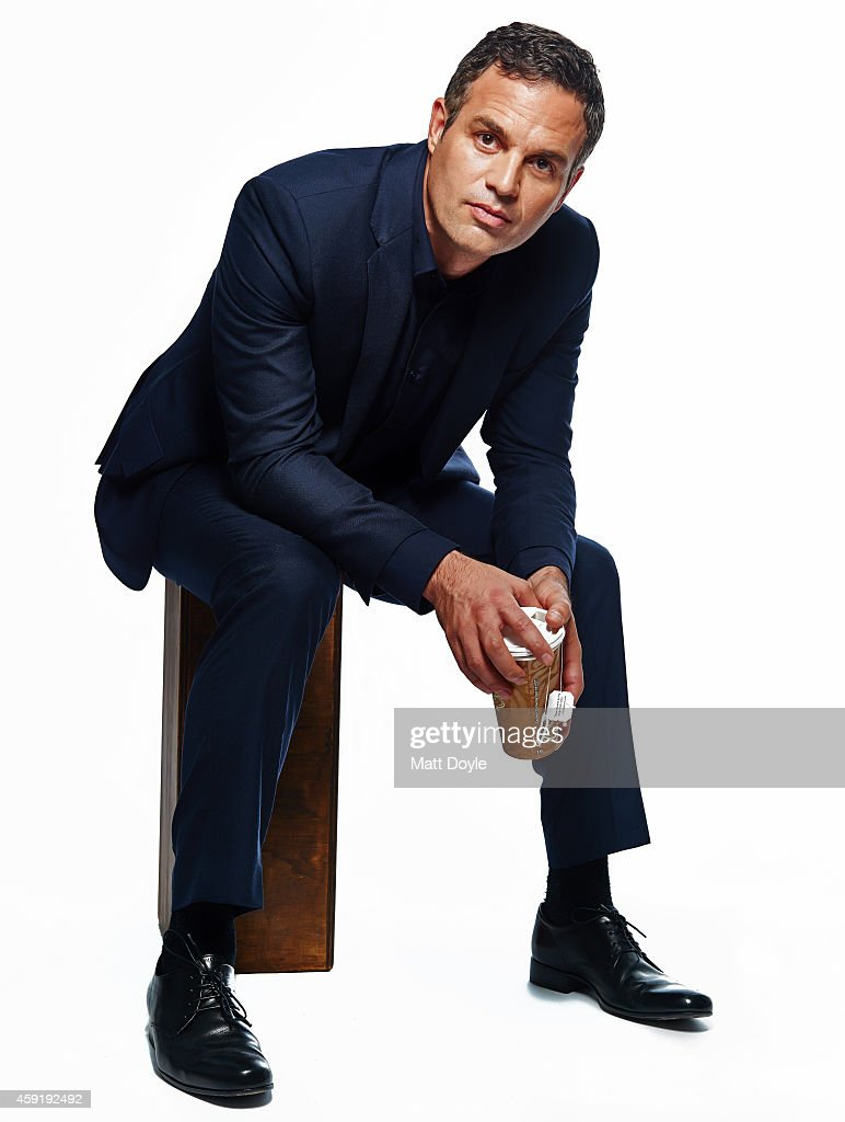 Actor <a gi-track='captionPersonalityLinkClicked' href=/galleries/search?phrase=Mark+Ruffalo&family=editorial&specificpeople=209317 ng-click='$event.stopPropagation()'>Mark Ruffalo</a> is photographed for Back Stage on October 10, 2014, in New York City.