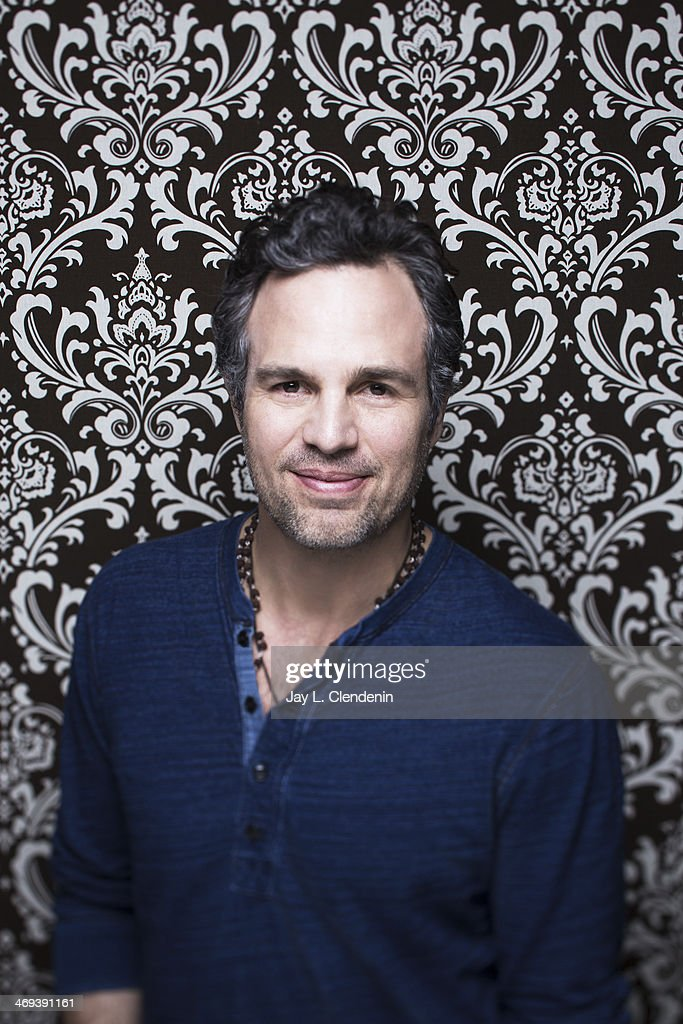 Actor <a gi-track='captionPersonalityLinkClicked' href=/galleries/search?phrase=Mark+Ruffalo&family=editorial&specificpeople=209317 ng-click='$event.stopPropagation()'>Mark Ruffalo</a> is photographed for Los Angeles Times on January 18, 2014 in Park City, Utah. PUBLISHED IMAGE.