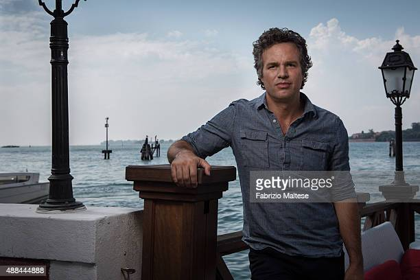 Actor Mark Ruffalo is photographed for The Hollywood Reporter on September 5 2015 in Venice Italy **NO SALES IN USA TILL DECEMBER 16 2015**
