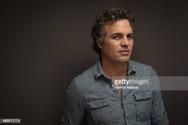Actor Mark Ruffalo is photographed for The Hollywood Reporter on September 5 2015 in Venice Italy