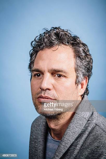 Actor Mark Ruffalo is photographed for Variety on January 18 2014 in Park City Utah