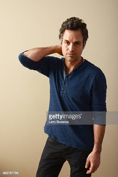 Actor Mark Ruffalo poses for a portrait during the 2014 Sundance Film Festival at the Getty Images Portrait Studio at the Village At The Lift...