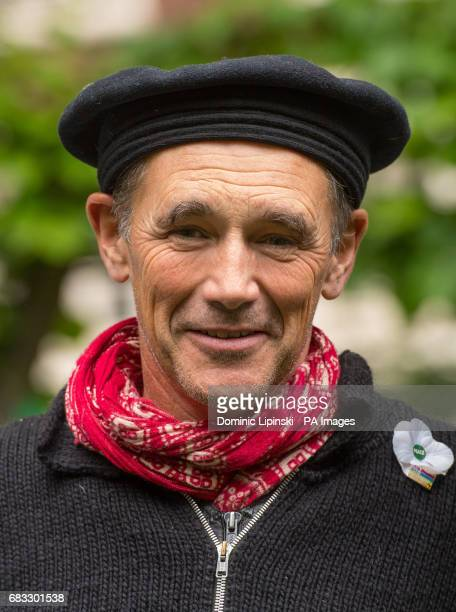 Actor Mark Rylance at the annual Conscientious Objectors' Day ceremony at Tavistock Square London