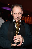 Actor Mark Rylance winner of Best Supporting Actor for 'Bridge of Spies' attends the 88th Annual Academy Awards Governors Ball at Hollywood Highland...
