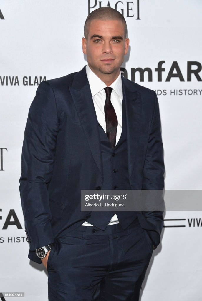 Actor Mark Salling arrives at amfAR's Inspiration Gala at Milk Studios on October 11, 2012 in Hollywood, California.