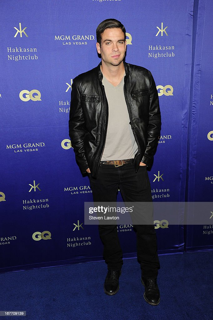 Actor <a gi-track='captionPersonalityLinkClicked' href=/galleries/search?phrase=Mark+Salling&family=editorial&specificpeople=5745691 ng-click='$event.stopPropagation()'>Mark Salling</a> arrives at the grand opening of Hakkasan Las Vegas Restaurant and Nightclub at the MGM Grand Hotel/Casino on April 27, 2013 in Las Vegas, Nevada.