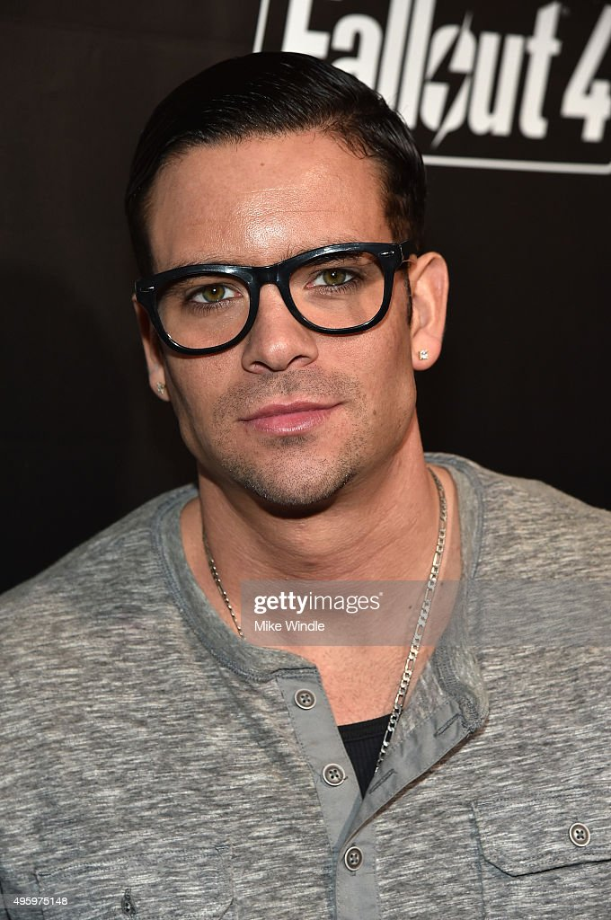 Actor <a gi-track='captionPersonalityLinkClicked' href=/galleries/search?phrase=Mark+Salling&family=editorial&specificpeople=5745691 ng-click='$event.stopPropagation()'>Mark Salling</a> attends the Fallout 4 video game launch event in downtown Los Angeles on November 5, 2015 in Los Angeles, California.