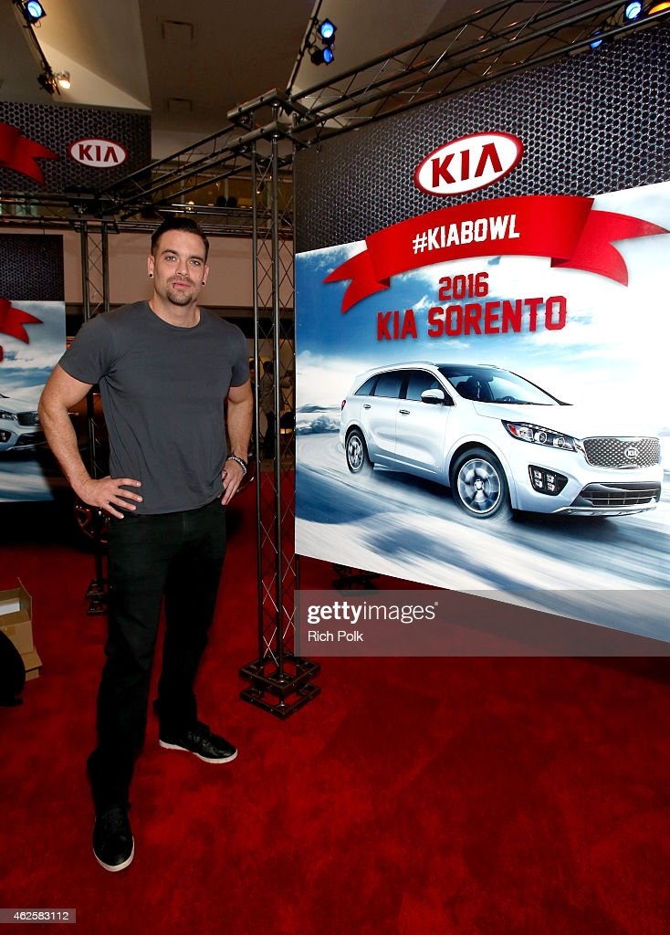 Actor Mark Salling attends the Kia Luxury Lounge presented by ZIRH at the Scottsdale Center for Performing Arts on January 31 2015 in Scottsdale...