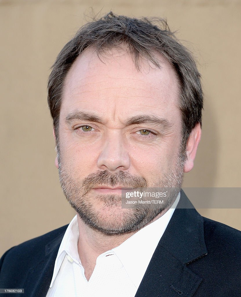 Actor Mark Sheppard arrives at the CW, CBS and Showtime 2013 summer TCA party on July 29, 2013 in Los Angeles, California.