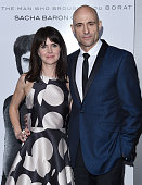 Actor Mark Strong and Liza Marshall arrive at the premiere of Columbia Pictures And Village Roadshow Pictures 'The Brothers Grimsby' at Regency...