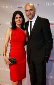 Actor Mark Strong and wife attend the 'Robin Hood' After Party at the Hotel Majestic during the 63rd Annual Cannes International Film Festival on May...