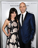 Actor Mark Strong and wife Liza Marshall attend the premiere of 'The Brothers Grimsby' at Regency Village Theatre on March 3 2016 in Westwood...