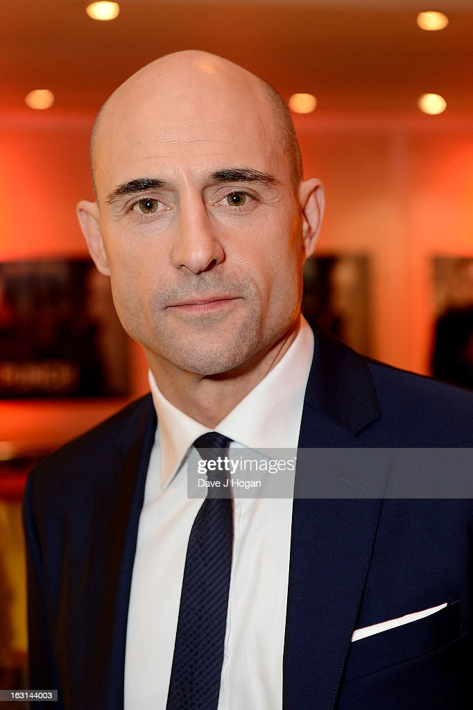 Actor Mark Strong attends the 'Welcome To The Punch' UK Premiere at the Vue West End on March 5, 2013 in London, England.