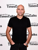 Actor Mark Strong attends TimesTalks Presents 'A View From The Bridge' at Times Center on November 23 2015 in New York City