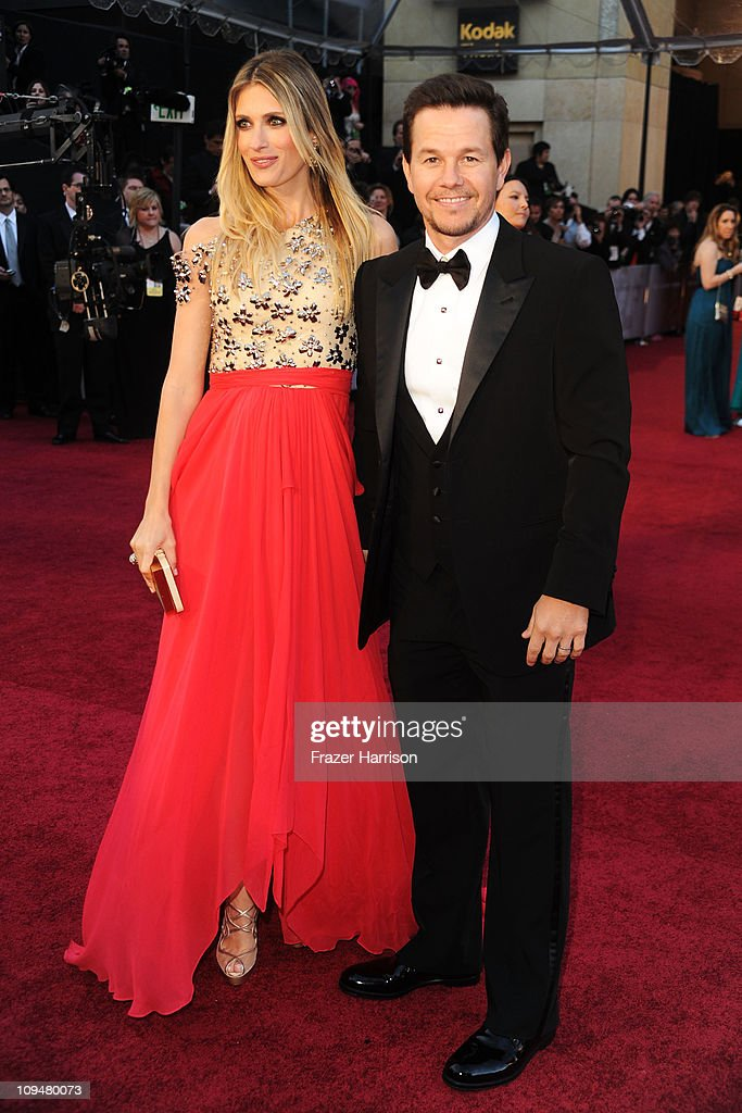Actor Mark Wahlberg and wife Rhea Durham arrives at the 83rd Annual Academy Awards held at the Kodak Theatre on February 27 2011 in Hollywood...