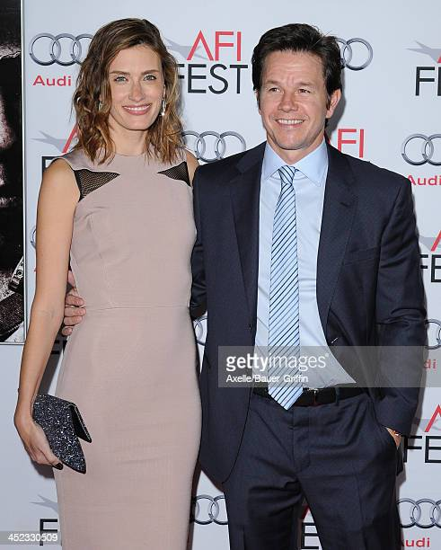 Actor Mark Wahlberg and wife Rhea Durham attend the screening of 'Lone Survivor' at AFI FEST 2013 at the TCL Chinese Theatre on November 12 2013 in...