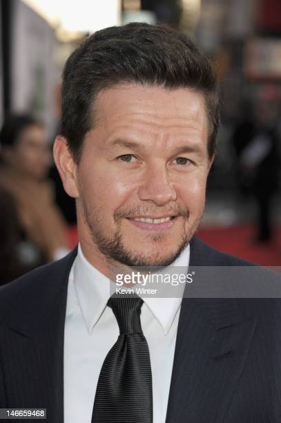 Actor Mark Wahlberg arrives at the Premiere of Universal Pictures' 'Ted' sponsored in part by AXE Hair at Grauman's Chinese Theatre on June 21 2012...