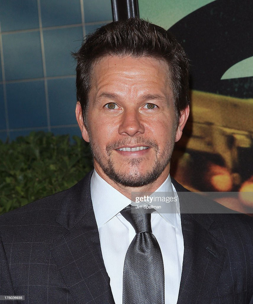 Actor Mark Wahlberg attends the '2 Guns' New York Premiere at SVA Theater on July 29, 2013 in New York City.