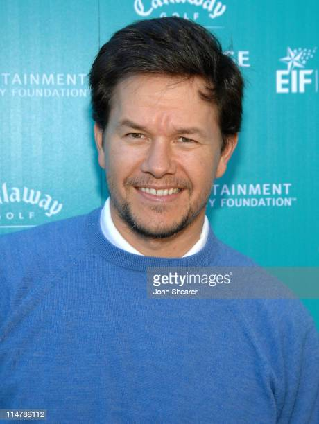 Actor Mark Wahlberg attends the Callaway Golf Foundation Challenge benefiting the Entertainment Industry Foundation cancer research programs held at...