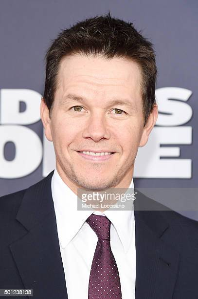 Actor Mark Wahlberg attends the 'Daddy's Home' New York premiere at AMC Lincoln Square Theater on December 13 2015 in New York City