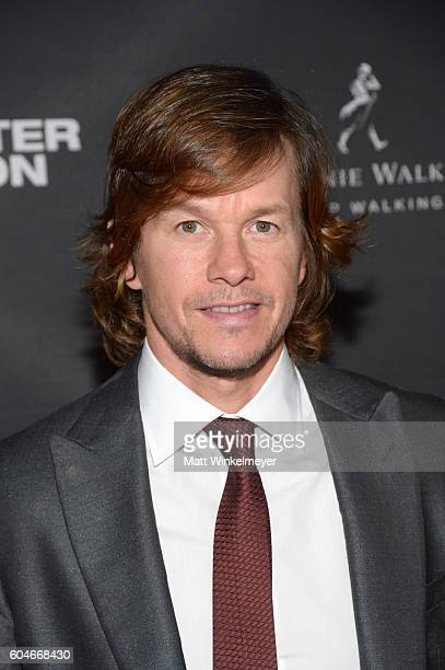 Actor Mark Wahlberg attends the 'Deepwater Horizon' premiere screening party presented by Johnnie Walker at The Addison Residence on September 13...