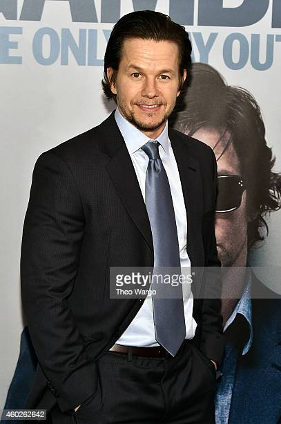 Actor Mark Wahlberg attends 'The Gambler' New York Premiere at AMC Lincoln Square Theater on December 10 2014 in New York City