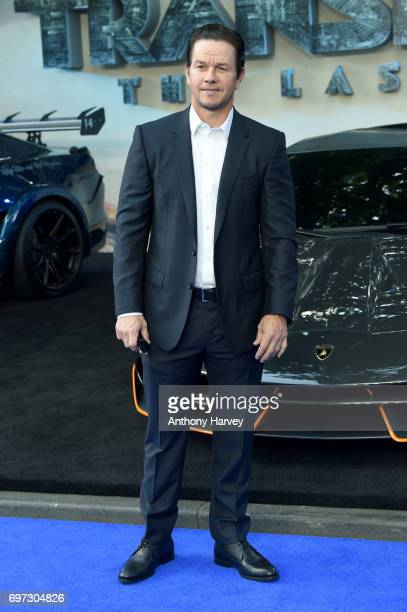 Actor Mark Wahlberg attends the global premiere of 'Transformers The Last Knight' at Cineworld Leicester Square on June 18 2017 in London England