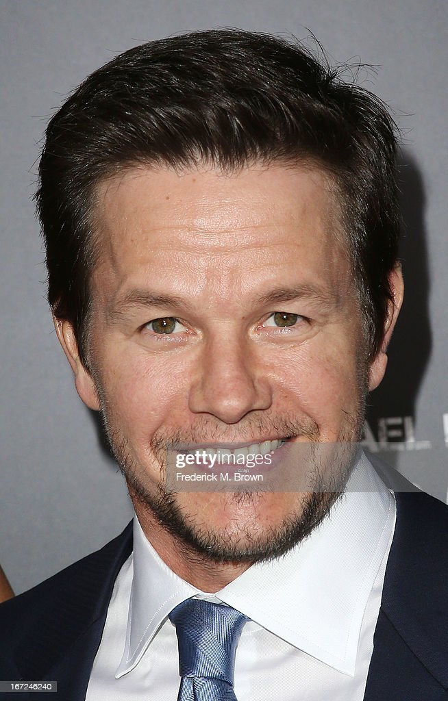 Actor <a gi-track='captionPersonalityLinkClicked' href=/galleries/search?phrase=Mark+Wahlberg&family=editorial&specificpeople=202265 ng-click='$event.stopPropagation()'>Mark Wahlberg</a> attends the premiere of Paramount Pictures' 'Pain & Gain' at the TCL Chinese Theatre on April 22, 2013 in Hollywood, California.