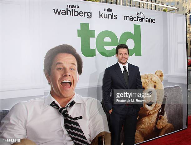 Actor Mark Wahlberg attends the premiere of Universal Pictures' 'Ted' at Grauman's Chinese Theatre on June 21 2012 in Hollywood California
