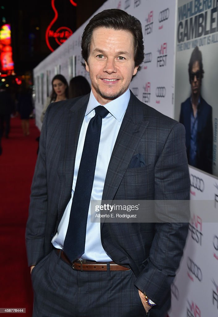 Actor <a gi-track='captionPersonalityLinkClicked' href=/galleries/search?phrase=Mark+Wahlberg&family=editorial&specificpeople=202265 ng-click='$event.stopPropagation()'>Mark Wahlberg</a> attends the screening of 'The Gambler' during the AFI FEST 2014 presented by Audi at Dolby Theatre on November 10, 2014 in Hollywood, California.