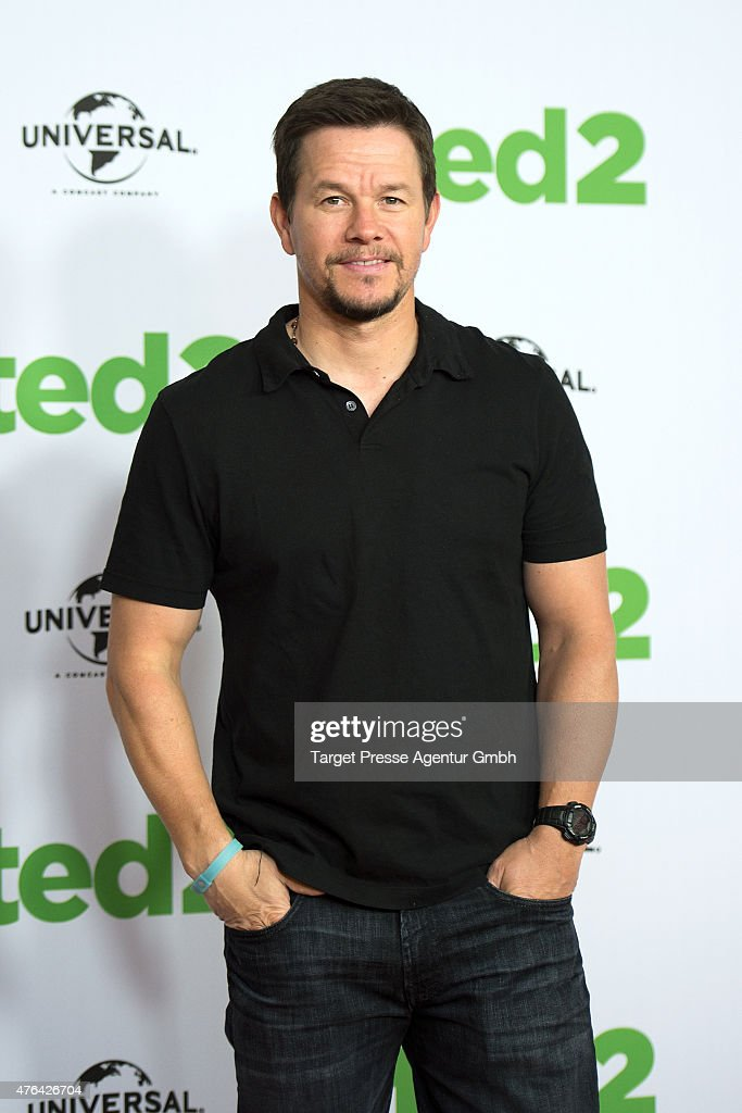 Actor <a gi-track='captionPersonalityLinkClicked' href=/galleries/search?phrase=Mark+Wahlberg&family=editorial&specificpeople=202265 ng-click='$event.stopPropagation()'>Mark Wahlberg</a> attends the 'Ted 2' Berlin photocall at Ritz Carlton on June 9, 2015 in Berlin, Germany.